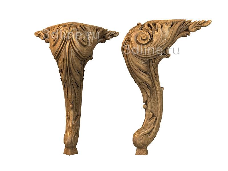 Ножки для мебели деревянные