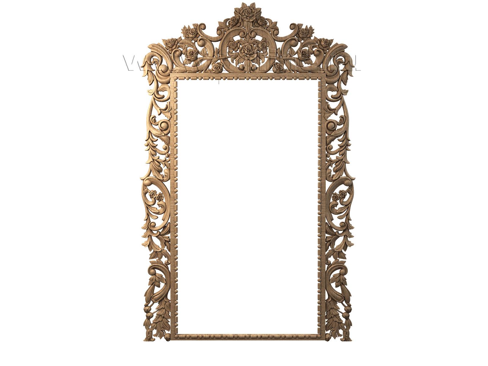 Рама для зеркала  из дерева 102
